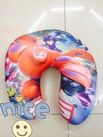 Wholesale Big Hero Baymax Kids Foam Particles Pillows U shape Pillows Throw Pillow Children Neck Pillow Gift For Kids inch inch B489