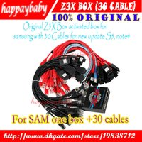 Wholesale the Newest Original Z3X Box for Samsung flash unlock repair with cables set new update for S5 unlock box