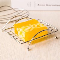 Wholesale Hot Seller Storage Rack Shower Soap Dishes Holder Shelf Bathroom Accessories Stainless Steel Size CM JB10