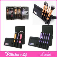 Wholesale Real TECHNIQUES Makeup Core Collection Starter Kit Travel Essentials Makeup Brush Sets Types