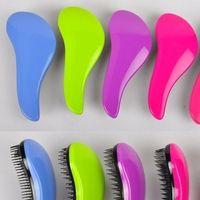 Wholesale Hair Brush Combs Magic Detangling Handle Tangle Shower Salon Styling Tamer Tool