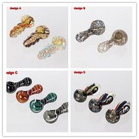 Wholesale 2015 New Mini Smoking Pipe Glass Bong Glass Pipe Designs Glass Hookah Herb Pipe