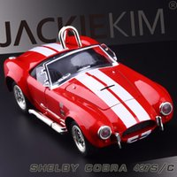 baby cobra - High Simulation Exquisite Baby Toys New and Original Shelby Cobra S C Model Alloy Sports Car Model Excellent Gifts