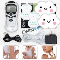 Wholesale Digital Therapy Machine Electronic Acupuncture Massager high quality Household Heath Tool by ewin24 for your healthy