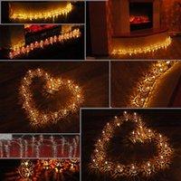 LIXADA 2,1 M 20 LED blanc chaud Fer creux Métal Cage Lanterne Fée Lumière cordes pour la fête de Noël Accueil Décoration de chambre cadeau pour $ 18Personne tr