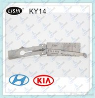 best decoder - Best Quality LISHI KY14 in Auto Pick and Decoder for HYUNDAI KIA LOCKSMITH TOOLS Lock Pick Set Door Lock Opener A196