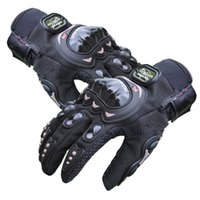 finger bike - 3D Motorcycle Gloves Bike Bicycle Full Finger Outdoor Sports Protective Racing Gloves High Quality Unisex NB01