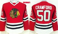 best female names - Blackhawks Corey Crawford Red Home Jerseys Hottest Women Hockey Jerseys Stitched Name and Number Best Female Ice Hockey Jerseys