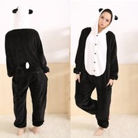 Wholesale Lovely Panda Animal Onesies Adult Onesies Costume Pyjamas Women Ladies Animal Onesies Pyjamas Anime Cosplay Costumes Animal Costume Pyjamas