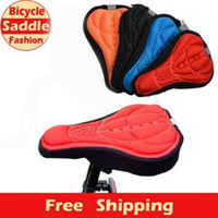 Wholesale Fashion Bicycle Saddle of Bicycle Parts Cycling Seat Mat Comfortable Cushion Soft Seat Cover for Bike