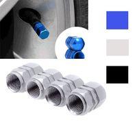 bias tyre - Universal Auto Bicycle Car Tire Valve Caps Tyre Wheel Hexagonal Ventile Air Stems Cover Airtight rims Accessories A2