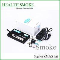 achat en gros de zmax cigarette-Cigarettes Electroniques Cigarettes Electroniques Kits 100% Original sigelei zmax kit sigelei zmax v5 mod kit avec forfait cadeau 510