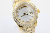 eyki - date man gold belt drop ship New Fashion Automatic Mechanical Wristwatches men watch Luxury Stainless steel Men s Watches