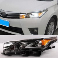best auto headlamps - Car Styling Auto Headlight Headlamp For Toyota Corolla Bifocal Lens Guiding Light Best quality