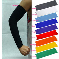 Wholesale New arrivals Basketball Sports Safety Stretch Arm Sleeve Elbow Pads Wrist Brace Protector Nylon FX303