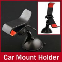 Cheap Universal Car Windshield Stand Mount Holder Bracket for Samsung for iPhone 4 5 5s 5c 6 Mobile Phone GPS MP4 Rotating 360 Degree