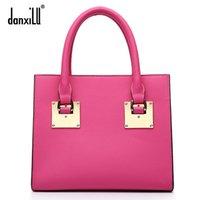 real leather handbags - Danxilu2015 handbags new fashion real leather handbags small square bag shoulder bag handbag Messenger bag lady packet