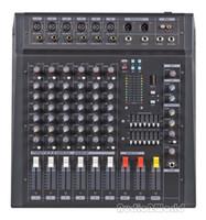 Wholesale Professional Audio Powered Amplifier Mixer Channels Graphic EQ Mixing Console Mezcladora De DJ Wx2 PMX606D