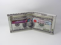 paper money - qianVarious countries Paper money wallet fashion and personality The purse is made of PU leather