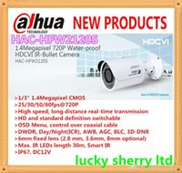 Wholesale DAHUA Pro Series IP67 DC12V MP P Waterproof Small IR Bullet Camera with Fixed Lens IP66 HAC HFW2120S