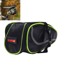Wholesale LEADBIKE Waterproof Bicycle bags Saddle Bag Cushion Package for Mountain Bike CYC_60A