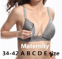 cotton bras - 2015 New Maternity Women Underwear Cotton Nursing Maternity Bra Wire Free Underwear Women Breast Feeding Bra For Nursing