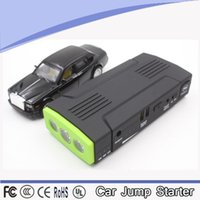 Wholesale New Portable Car Battery Mini Jump Starter Emergency Charger Multi fonction Laptop Mobile Phone Power color