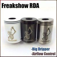 Revisiones Tanque de mutación-Mecánico Freakshow RDA Atomizador 4 Colores vs Engima Mutación X Vertex Géiser Tanque Bat Mono Darang V2 V3 RDA RBA Rebuidable Atomzier