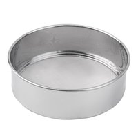 Wholesale 1pc Stainless Steel Mesh Flour Sifting Sifter Sieve Strainer Cake Baking Kitchen Brand New