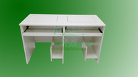 Wholesale Double flip embedded computer desk computer desk computer desk training institutions