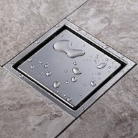 Wholesale 2015 New High Quality Luxurious SUS Stainless Steel Square a0 mm Anti Odor Floor Drain
