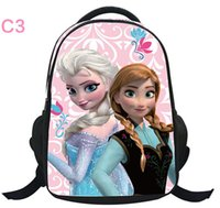 Wholesale hot selling frozen schoolbag sell like hot cakes Queen s big adventure Cartoon bag primary school for boys girls