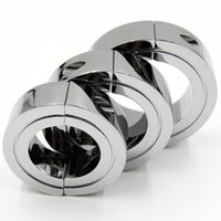 Wholesale Metal Cock Ring Penis Ring Ball Stretcher Male Chastity Devices Erotic Sex Toys Adult Products for Him