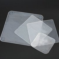 Wholesale 4pcs Clear Reusable Silicone Food Wraps Seal Cover Stretch Multifunctional Food Fresh Keeping Saran Wrap Kitchen Tools