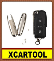 audi remote starter - car Auto key for Old Style Modified Flip Remote Key Shell For Audi A6