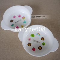 pp plastic raw - Baby bowl Baby bowl baby child bowl tableware super capacity ml raw material pp resin