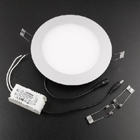 aluminum suspended ceiling - 3W W High bright V V LED Panel Light round Ceiling Lamp Home decoration Aluminum Focus with Epistar LED mil Ultrathin