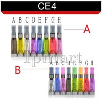 Non-Replaceable 1.6ml Plastic IN STOCK CE4 Atomizer 1.6ml CE4 Clearomizer for 510 Battery eGo evod vision spinner3 Electronic Cigarette E cig VS Protank Aerotank RDA