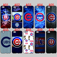 apple chicago - Chicago Cubs For iPhone S Plus SE S C S iPod Touch For Samsung Galaxy S6 Edge S5 S4 S3 mini Note phone cases