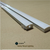 bar f - 10set m led aluminium profile for led bar light led strip aluminum channel waterproof aluminum housing Sunny Wood YD F