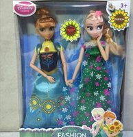 real doll - 2015 Froze Fever anna elsa real body dolls barbie inch Cinderella dolls cindy doll baby girl toys gift play set TOPB2756 set
