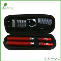 Cheap CE4 ego 650mAh 900mAH 1100mah double electronic cigarettes ecigarette zipper case with ego charger battery E-cigarette Kit