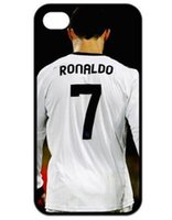 Wholesale Cristiano Ronaldo Iphone Cover - Promotion CR7 Cristiano Ronaldo theme Hard Plastic Protective Phone Cover For Iphone 4 4S 5 5S 5C 6 6 Plus
