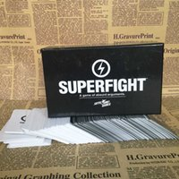 Wholesale Super Fight SUPERFIGHT Card Games Card Core Deck A Game of Absurd Arguments Chrismas Gift Hot Sale For players