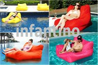 Wholesale Good quality summer swimming floating bean bag in pool summer water friends beanbag water bean bag lounger