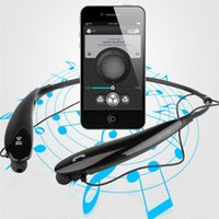Wholesale Tone HBS Bluetooth Stereo headset Wireless earphone sport headphone Bluetooth Sport Neckband Headsets For LG iPhone Samsung HB