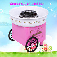 Wholesale Hot Sell Nostalgia Free Sugar Cotton Candy Maker Machine DIY Vintage Collection Hard Cotton Candy Maker Candy Floss Machine