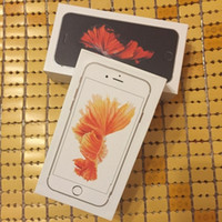 Wholesale 200pcs S BOX Cell Phone Boxes Empty Retail Boxes for iphone S G G G space gray silver rose gold gold with Accessories