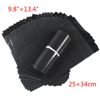 Wholesale 100pcs cm Dark Grey Poly Mailing Bags Plastic Envelope Express Bags Courier Bags High Quality Free