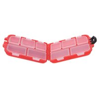 Wholesale Fishing Tackle Box fly fishing box Compartments Small Size for Fishing Hooks Swivels Beads etc A2
